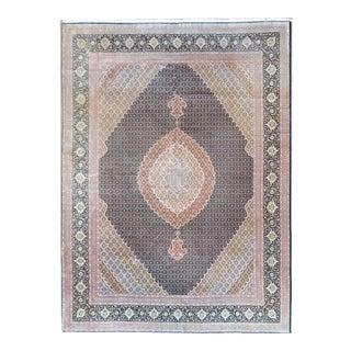 Late 20th Century Vintage Tabriz Rug For Sale