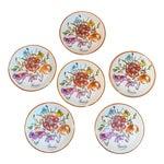 Vintage Gucci Porcelain Wildflower Trinket Dishes - Set of 6