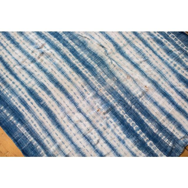 Vintage Batik Blue Throw - Image 5 of 5
