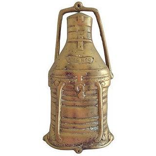 Brass Ship's Lantern Door Knocker