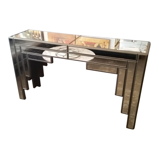 C1970s Mirrored Console - Image 1 of 7