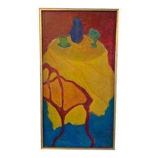 Martin Sumers Uncommon Tablescape Still Life For Sale