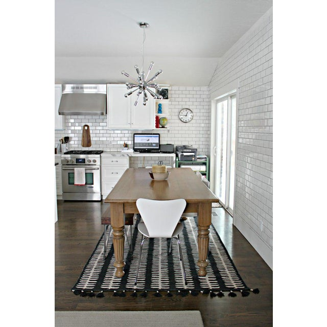 Rustic Farmhouse Dining Table - Image 5 of 10