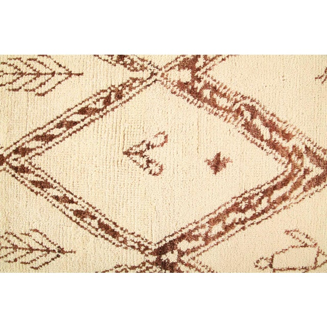 """Bohemian Hand-Knotted Area Rug 8' 1"""" x 10' 4"""" For Sale - Image 4 of 8"""