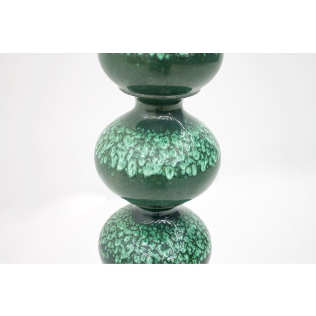 1960s Ceramic Floor Lamp by Kaiser Germany, 1960s For Sale - Image 5 of 9