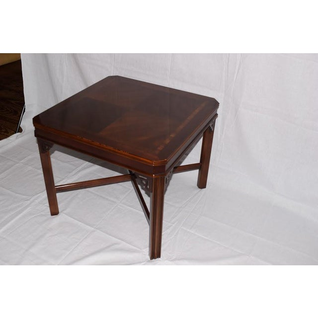 1990s 1990s Chippendale Lane Cocktail/End Table For Sale - Image 5 of 6