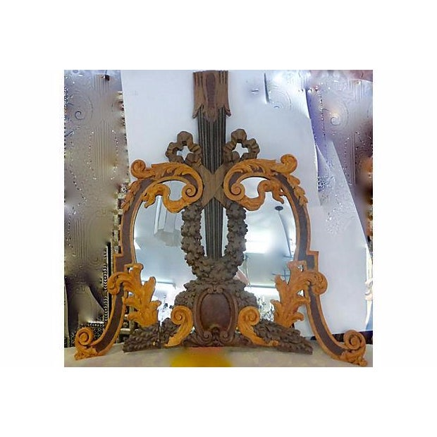 Rococo Hand Carved Italian 18th Century Mirrors - Pair For Sale - Image 3 of 9
