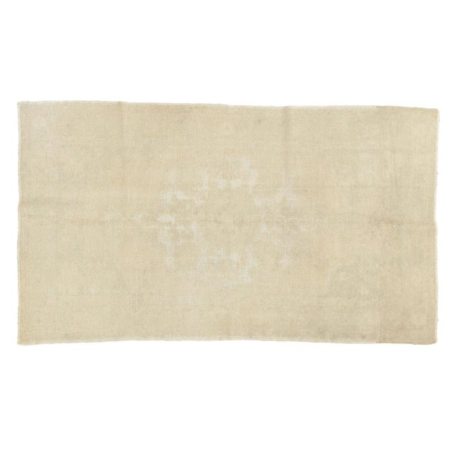"""Distressed Oushak Rug - 4'6"""" X 8' For Sale - Image 13 of 13"""