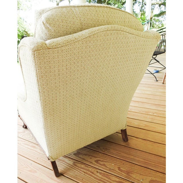 Vintage Rococo Carved Bergere Chair For Sale - Image 9 of 13