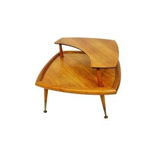 Mid Century Modern Frankl Style Corner Table For Sale