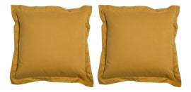 Image of Yellow Outdoor Pillows