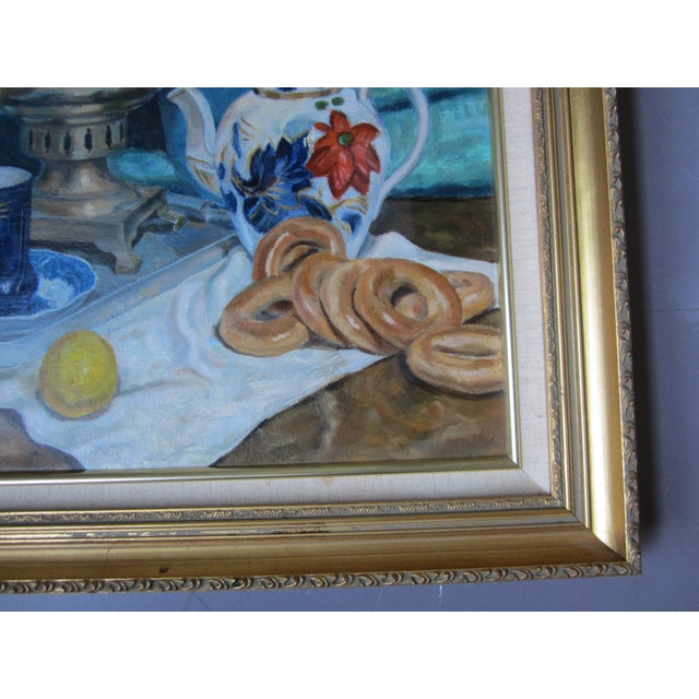 'Tea Time in the Ussr' Original Painting - Image 7 of 8