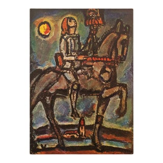 "1947 Georges Rouault ""Joan of Arc"", First Edition Period Parisian Lithograph For Sale"