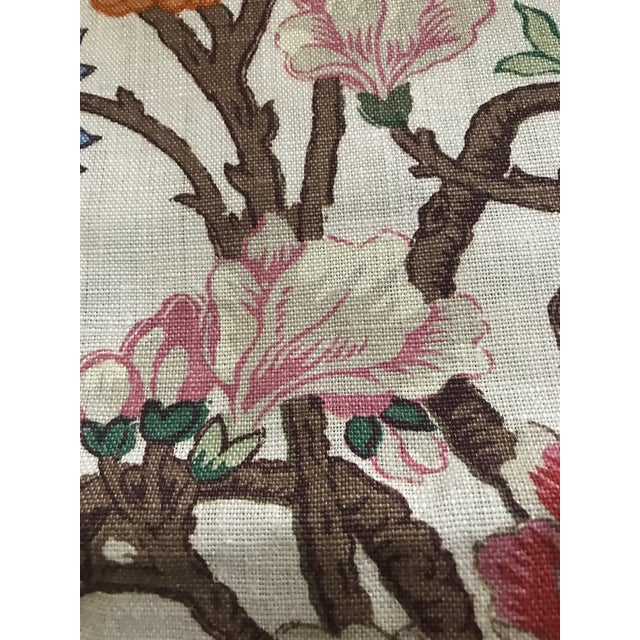 G P & J Baker Magnolia Colorful Linen Fabric - 10 Yards For Sale - Image 9 of 11
