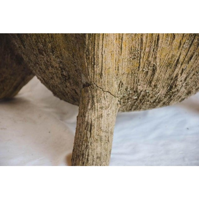 Mid 20th Century Faux Bois Planter For Sale - Image 4 of 13
