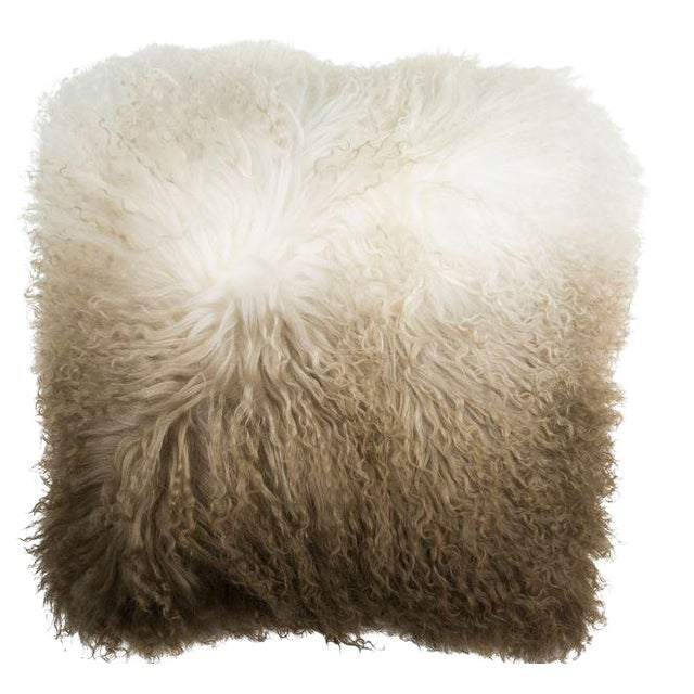 Mongolian Curly Lamb Pillow - Image 1 of 2