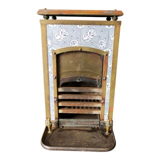 Antique Tiled Wood Stove For Sale