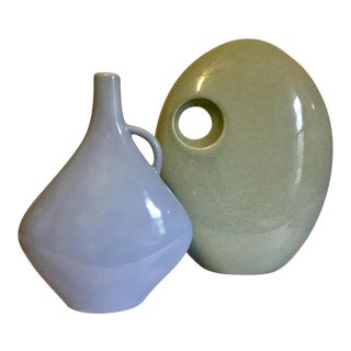 Jaru Ceramic Vases - A Pair For Sale