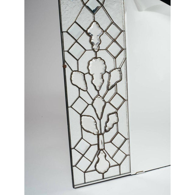 Opulent Hollywood Regency Mirror With Large Cut Crystals, 1940's For Sale - Image 4 of 12
