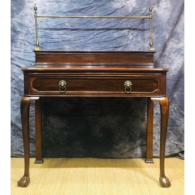 Metal 19th Century Vintage Sideboard For Sale - Image 7 of 10