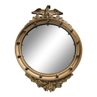 Vintage Convex Federal Mirror For Sale