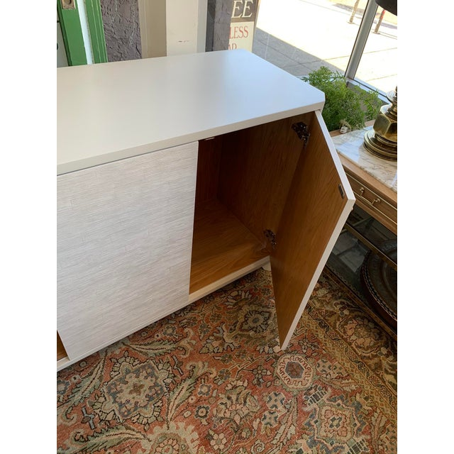 Wood Modern Bone White Buffet From Made Goods For Sale - Image 7 of 10