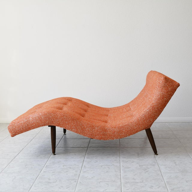 Adrian Pearsall 1960s Adrian Pearsall Wave Chaise Lounge For Sale - Image 4 of 8