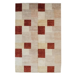 Peshawar Ziegler Hand Knotted Wool Rug | Daryab - 6.5x10