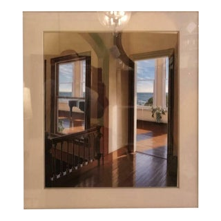 "Edward Gordon ""Late Afternoon"" Framed Print in a Mahogany Frame For Sale"