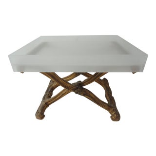 20th Century Louis XV-Style X-Base Table For Sale