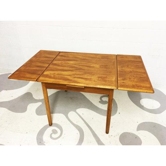 Mid-Century Modern Teak Dining Table - Image 6 of 6