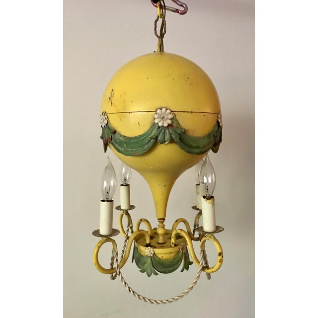 1930's French Hot-Air Balloon Chandelier For Sale - Image 13 of 13