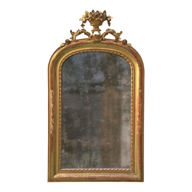 19th Century Mirror, France For Sale - Image 6 of 7