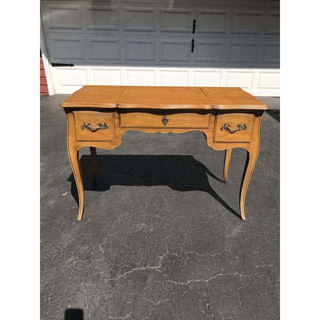 1950s French John Widdicomb Vanity/Writing Desk For Sale - Image 5 of 5