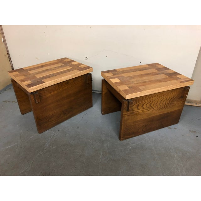1970s Mid Century Modern Lane End Tables - a Pair For Sale - Image 9 of 9