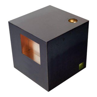 Cube Side Table by Harry Clark For Sale
