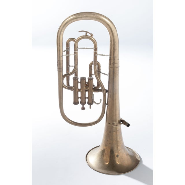 Weltklang Vintage Marching Baritone Horn For Sale - Image 5 of 5