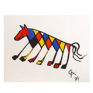 """1974 Original """"Beastie"""" Limited Edition Print Lithograph by Alexander Calder For Sale"""