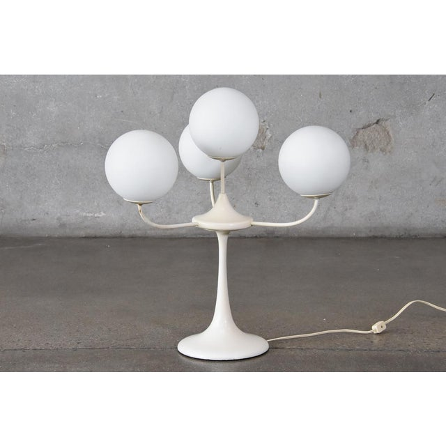Tulip table lamp with frosted globes by temde leuchten chairish tulip table lamp with frosted globes by temde leuchten image 5 of 5 aloadofball Images