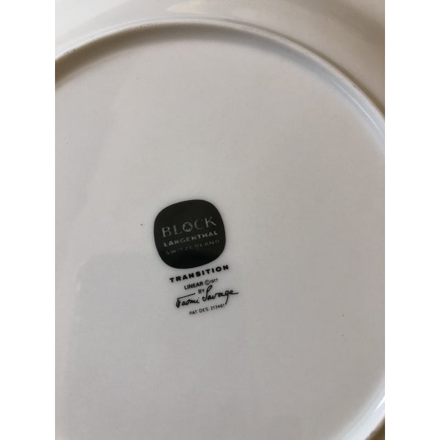 Block Lagenthal Dinnerware - Set of 4 For Sale In Charlotte - Image 6 of 8