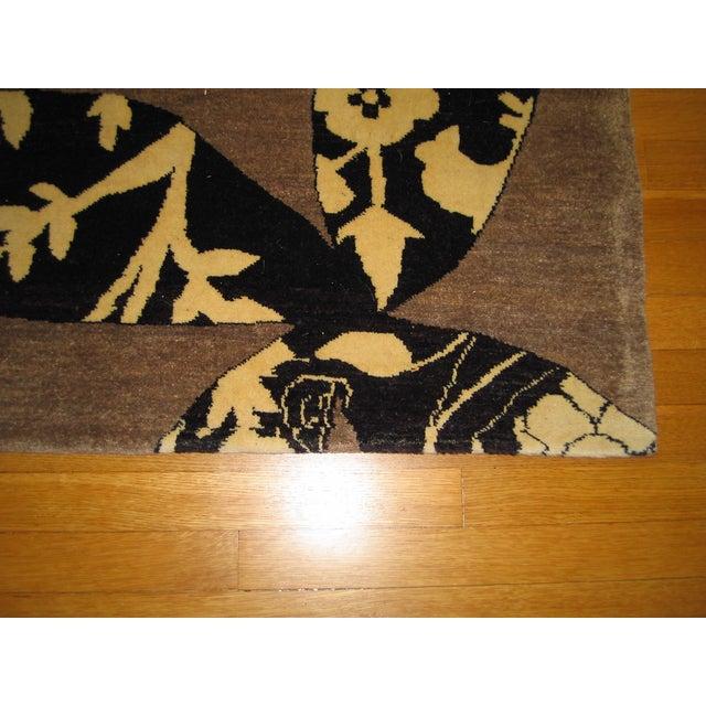Madeline Weinrib Putty Lark Tibetan Wool Rug - 7′10″ × 10′1″ - Image 6 of 9