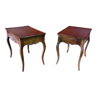 Pair of Louis XVI Style End Tables For Sale