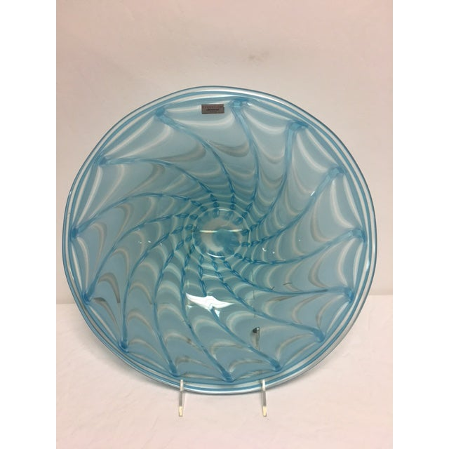 Waterford Evolution Aqua Art Glass Bowl - Image 2 of 8