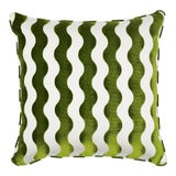Image of Schumacher X Miles Redd the Wave Lettuce Pillow For Sale