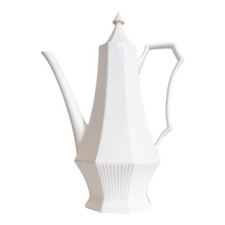 Independence Ironstone White Teapot by Castleton China For Sale