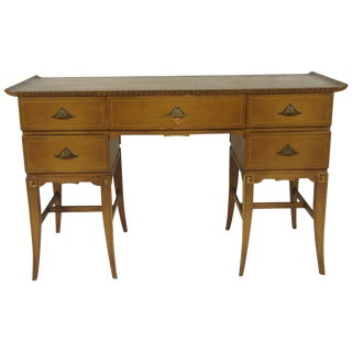 1940s Hollywood Regency Desk For Sale