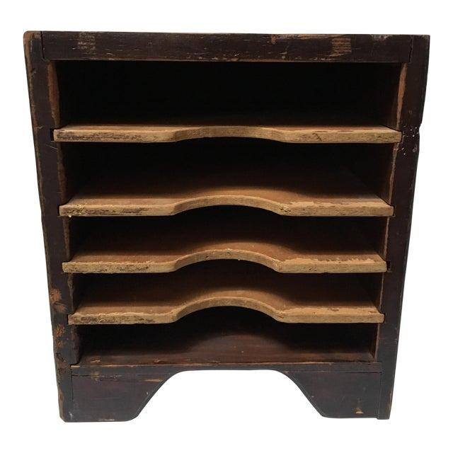 Vintage Wooden Paper Sorter - Image 1 of 11