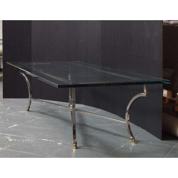 1970s Maison Jansen Style Coffee Table For Sale - Image 5 of 8