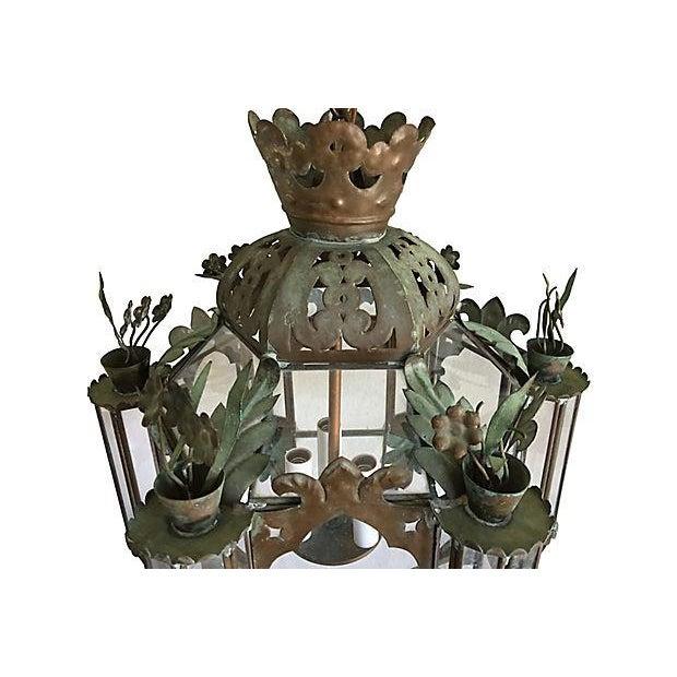 Mid-Century Moroccan Lantern Pendants - A Pair - Image 3 of 7