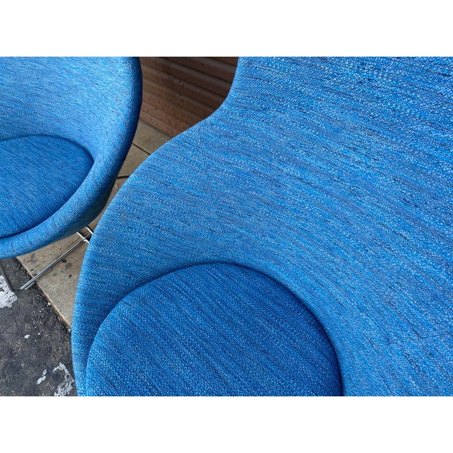 2000 - 2009 Allermuir Conic Modern Lounge Chairs - a Pair For Sale - Image 5 of 7